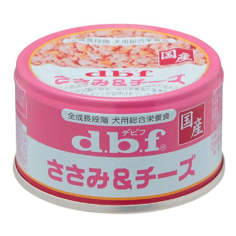 dbf デビフ缶 ささみ&チーズ 85g