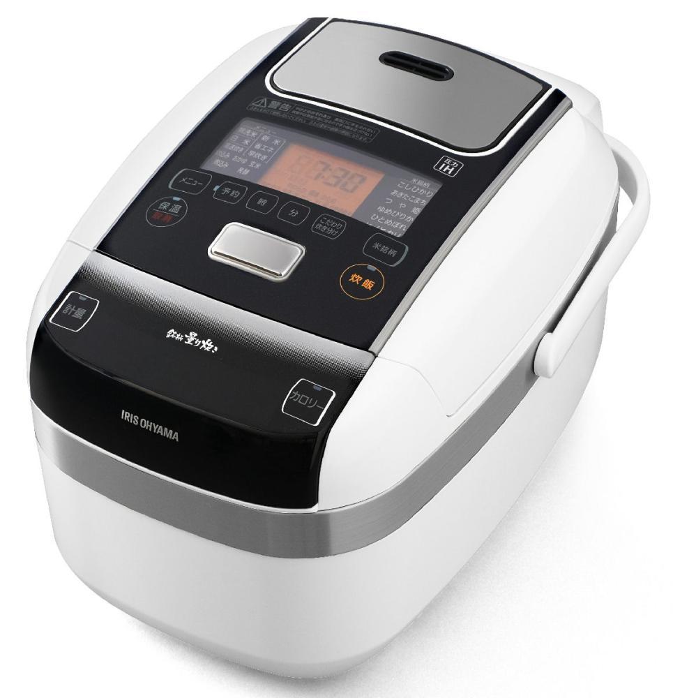 アイリスオーヤマ 米屋の旨み 銘柄量り炊き 圧力IHジャー炊飯器 5.5合 ホワイト RC-PC50-W