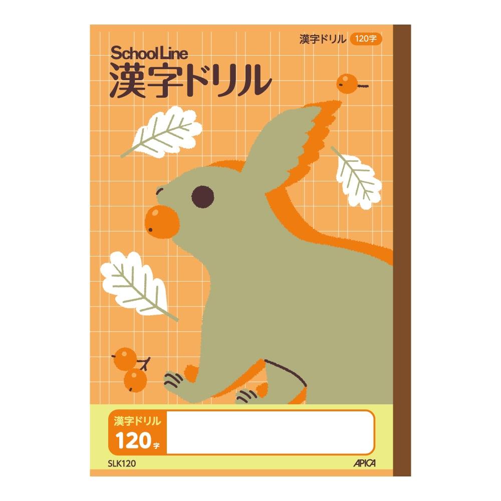 アピカ スクールライン 漢字ドリル 120字