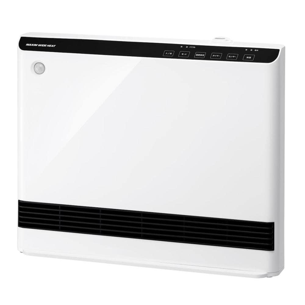 スリーアップ 人感室温センサー付 加湿機能付 パネルセラミックヒーター マキシムワイドヒート ホワイト CH-T1961WH