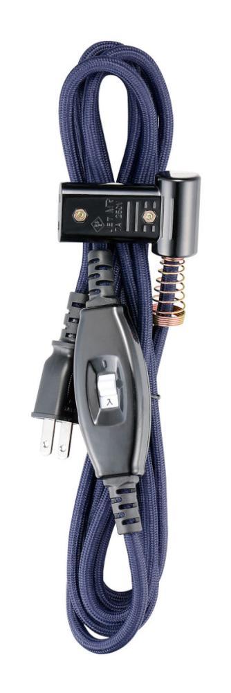メトロ製 こたつコード 中間スイッチ式 ブラック BC-2PL