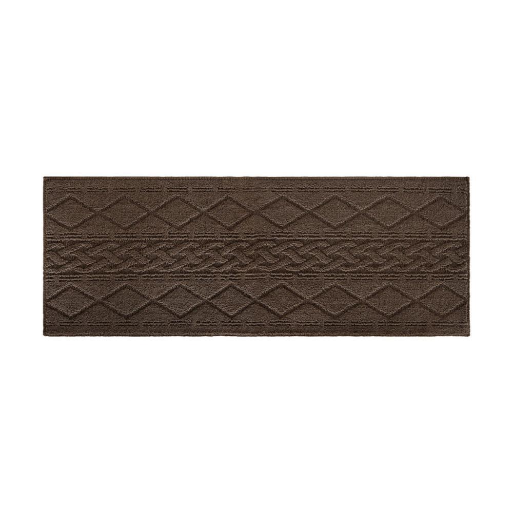 オカトー サニーインテリアマット ブラウン 45×120cm