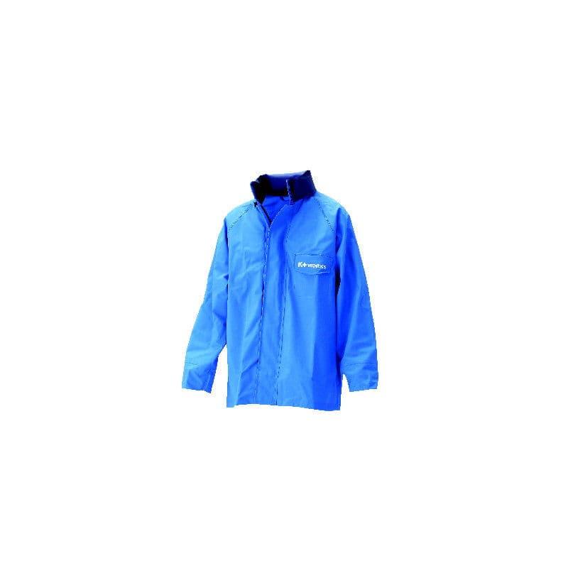 コメリ 耐水マリンジャケット ロイヤルブルー L(着丈78cm)