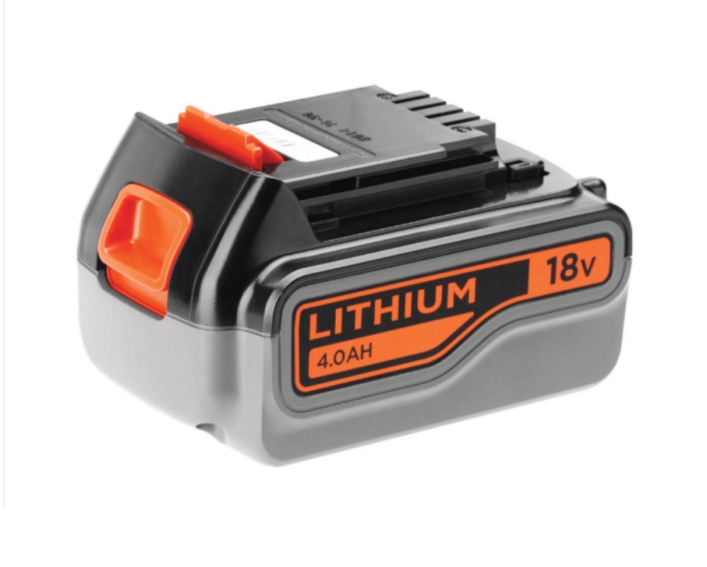 ブラックアンドデッカー 充電池 18V4.0Ahリチウムイオンバッテリー バッテリーのみ BL4018-JP