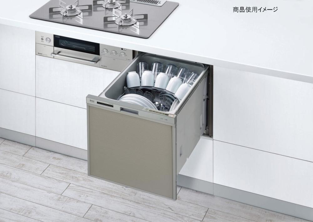 リンナイ 食洗機 RWX-404C スライドオープンスタンダ-ド