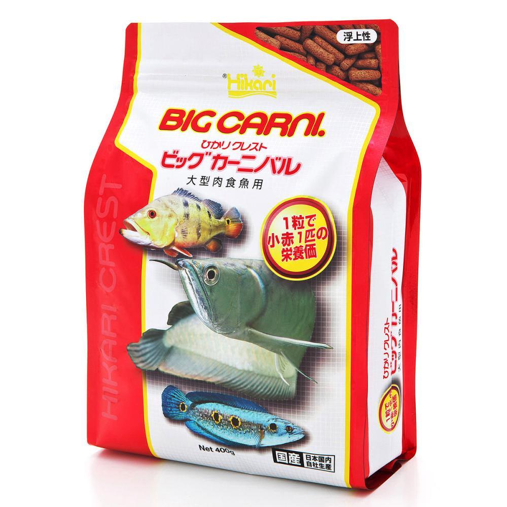 キョーリン ひかりクレスト ビッグカーニバル 肉食魚用 400g