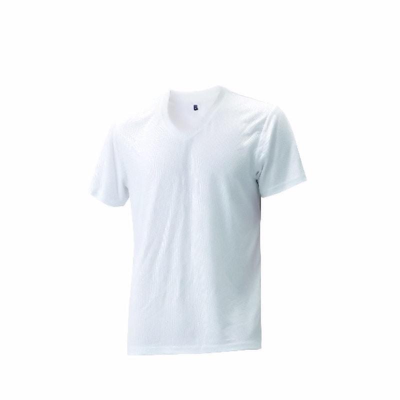 コメリ カラーV首Tシャツ消臭テープ付 3色アソート