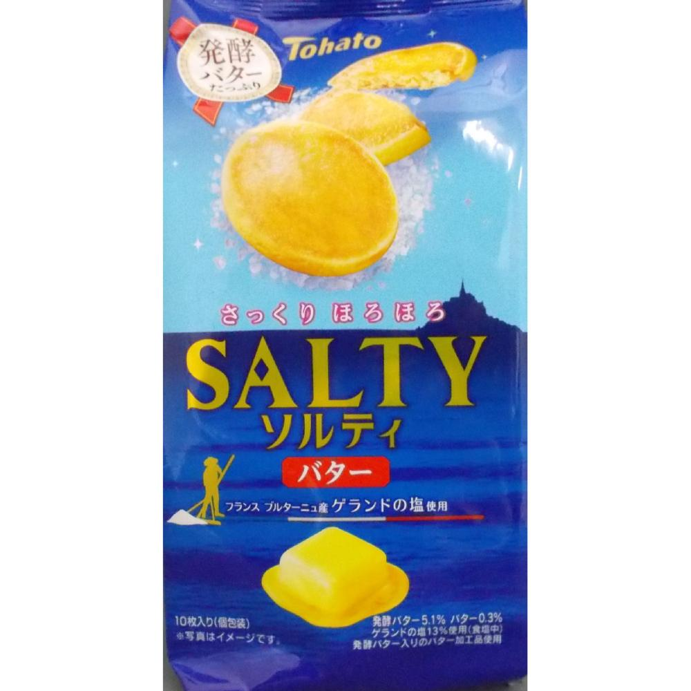 Tohato ソルティバター 10枚入