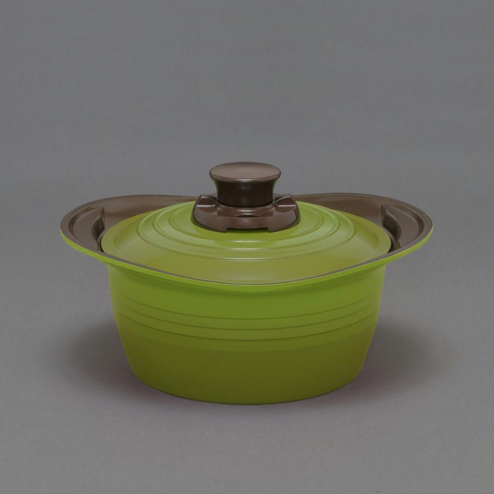 無加水鍋 20cm MKSS-P20 グリーン