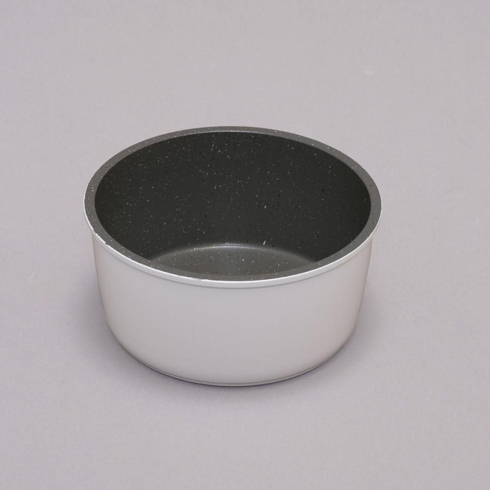 ダイヤモンドコートパンマーブル なべ ISN-P ホワイト 各種