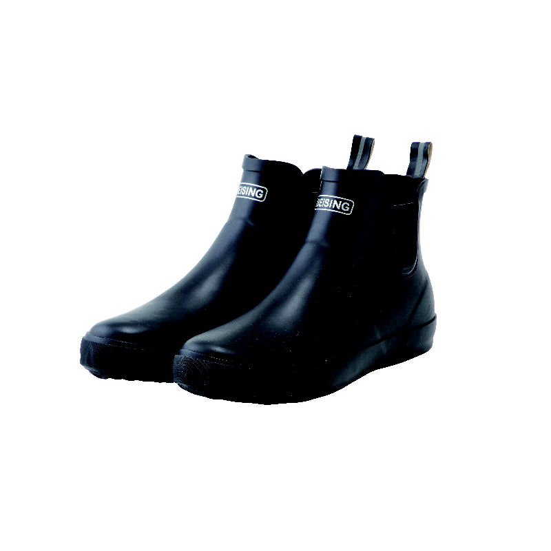 レインショートブーツ ブラック L