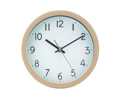 掛置き兼用時計 ナチュラル #7893NA