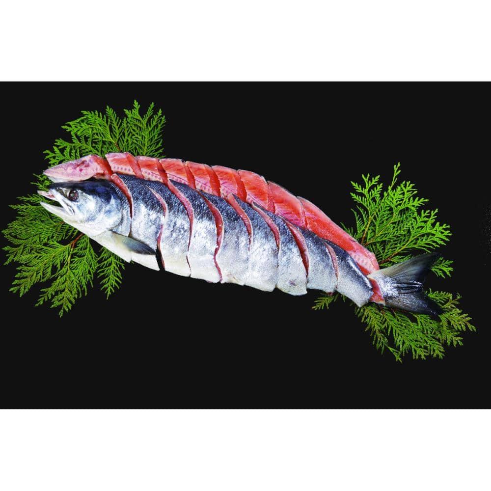 【20年お歳暮ギフト】北海道産 新巻鮭姿 Q3-5
