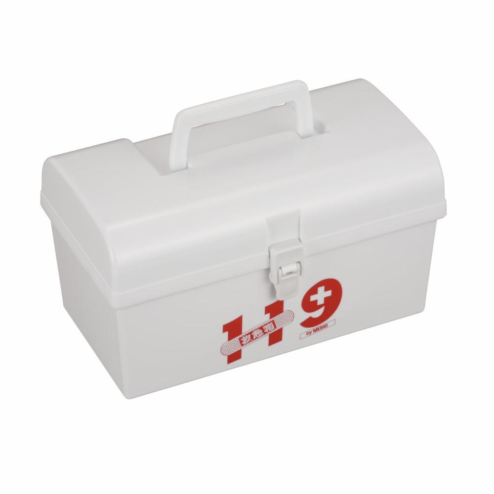明邦化学工業 救急箱 119 M ホワイト