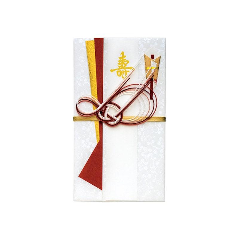 マルアイ 祝儀袋 なごみ寿 赤 キ-609R