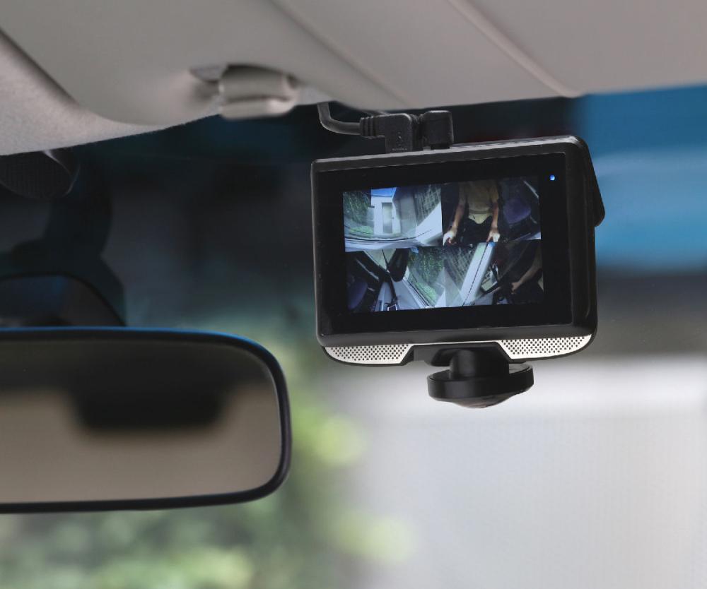 360度リアカメラ付ドライブレコーダー SDカード付 DX-DR360