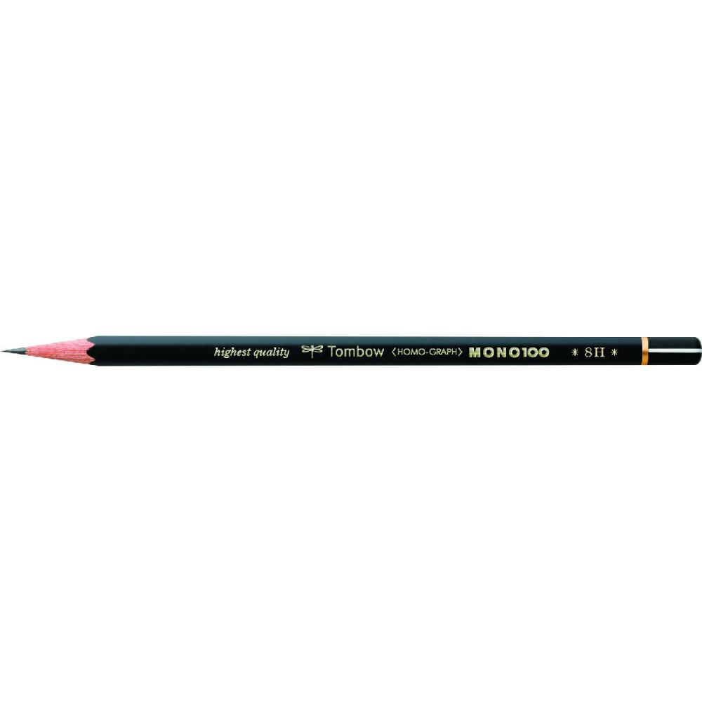 トンボ鉛筆 鉛筆 MONO 100 8H