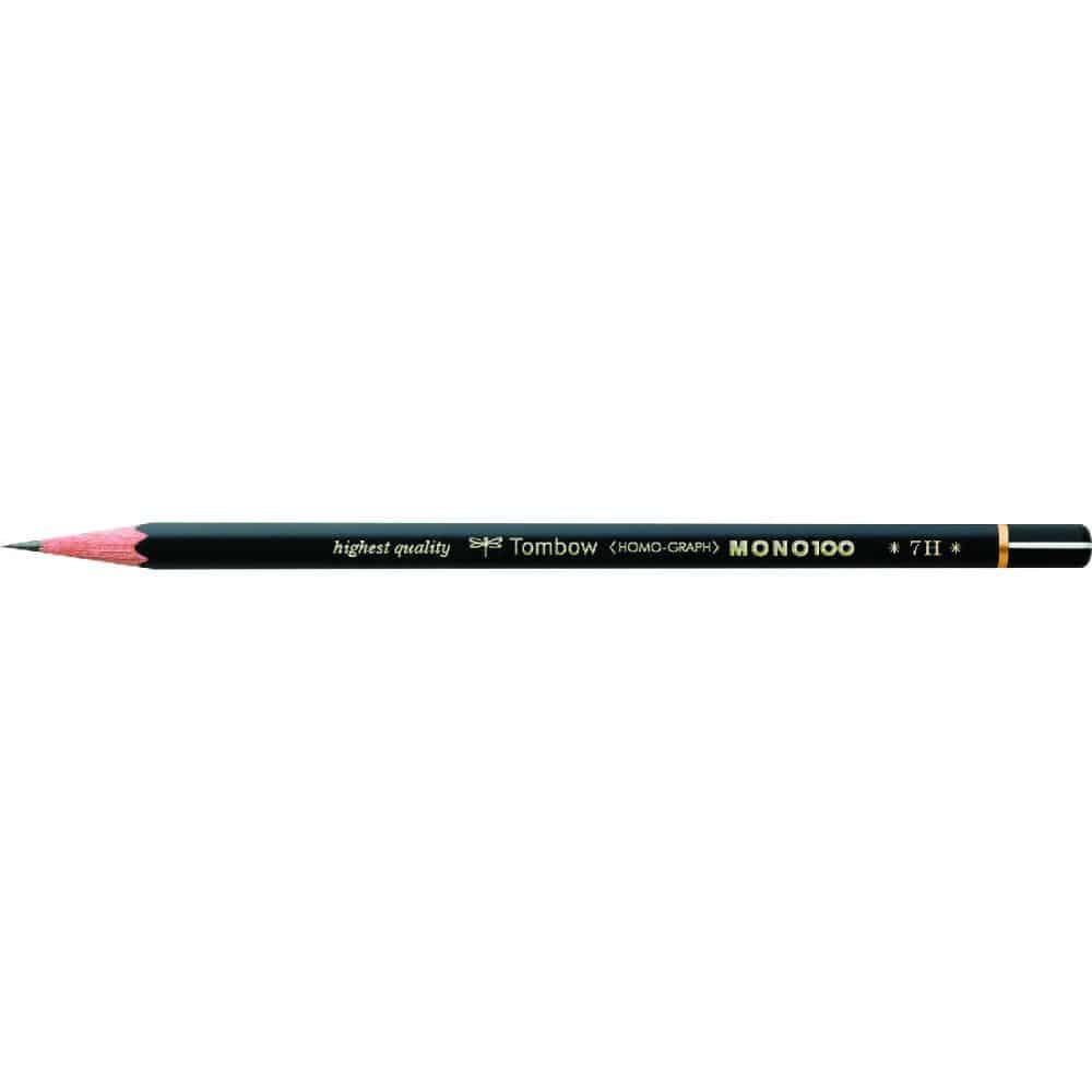 トンボ鉛筆 鉛筆 MONO 100 7H
