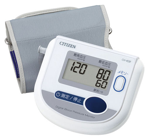 シチズン・システムズ 血圧計(上腕式) CH453F