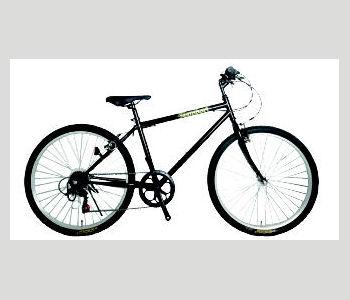 マウンテンバイク 26インチ ブラック 266H20