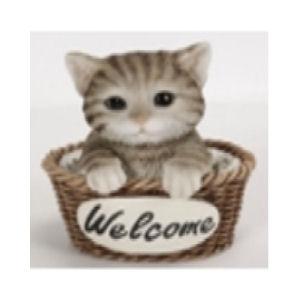 ウェルカム バスケット 子猫