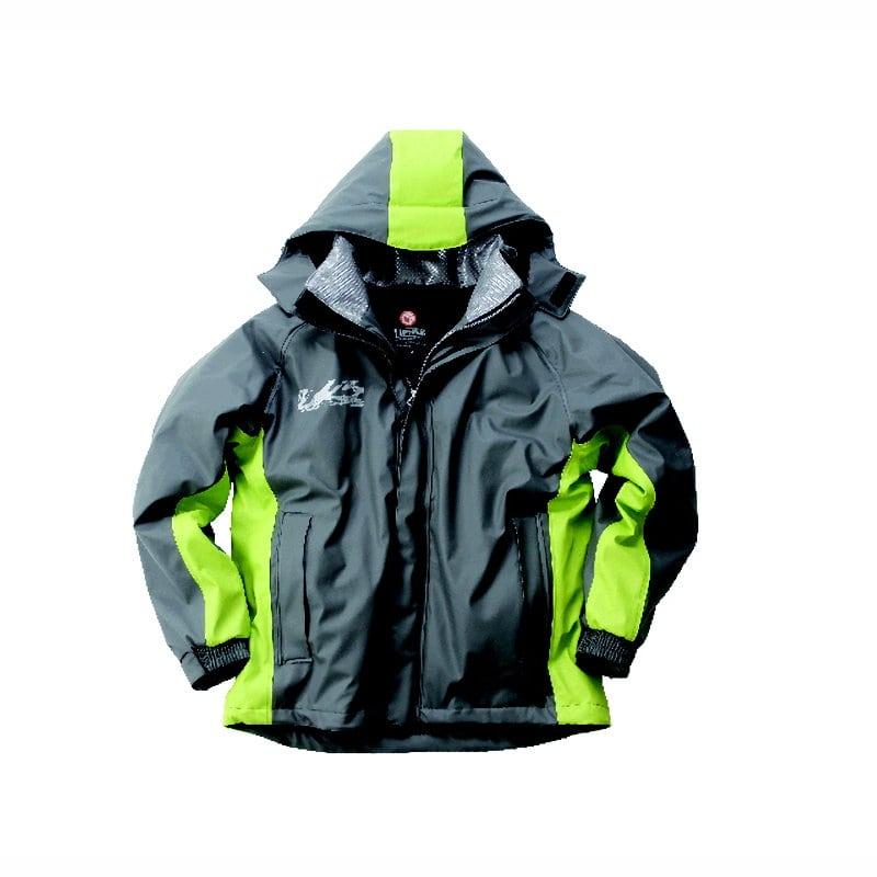 LOGOS 超耐水防水防寒スーツ パメラ グレー L
