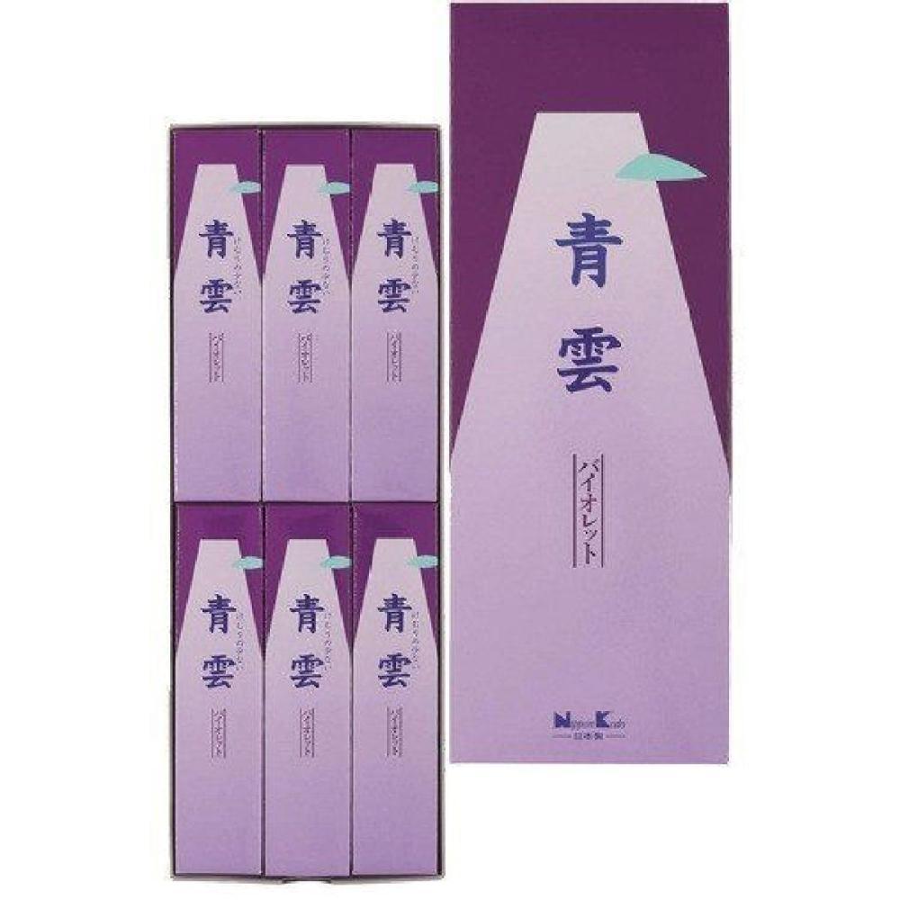 日本香堂 青雲バイオレット 進物6入 包装品