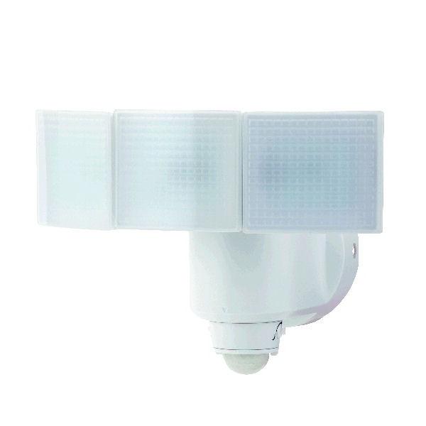 RETZLINK ソーラーLEDセンサーライト 3灯 1000lm