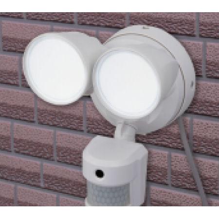 2灯式LEDカメラ付センサーライト 2000lm RL-2LCV2000AC