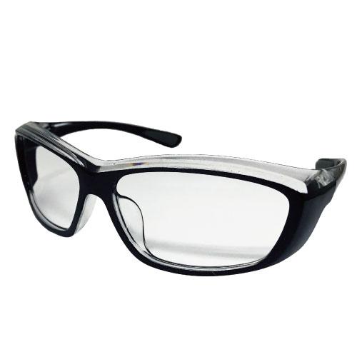 保土ヶ谷電子販売 花粉グラス スポーツ ブラック KF-04-1