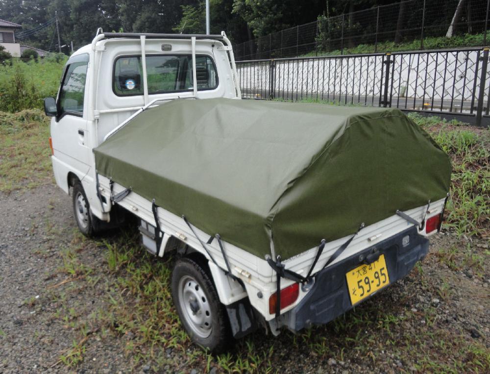 アルミス アルミフレーム軽トラ幌セット AKT-5N型