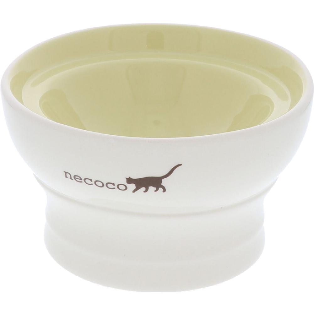 ペティオ necoco 脚付き陶器食器 ドライフード向き