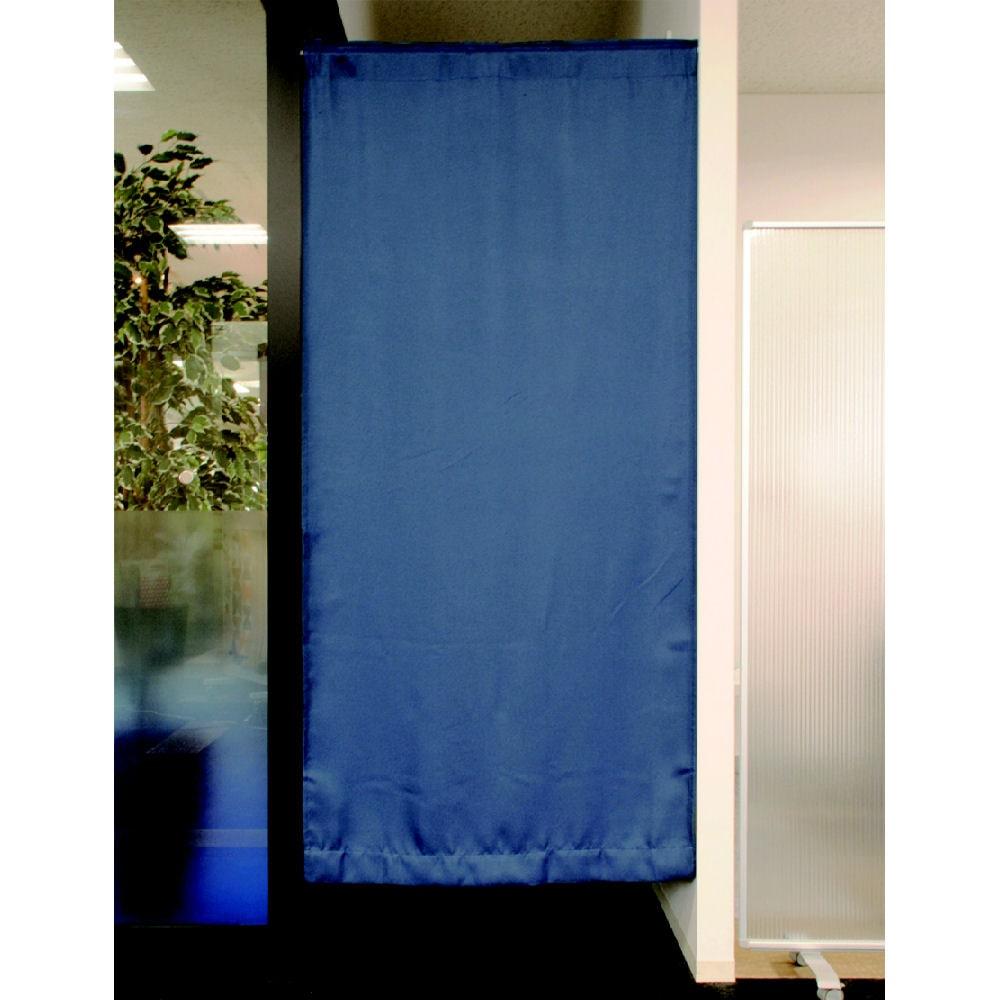 間仕切りカーテン ツイル ネイビー 95x135 1枚入り