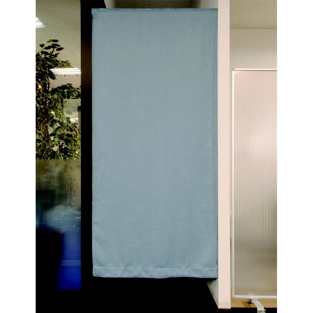 間仕切りカーテン ツイル ブルー 95x135 1枚入り