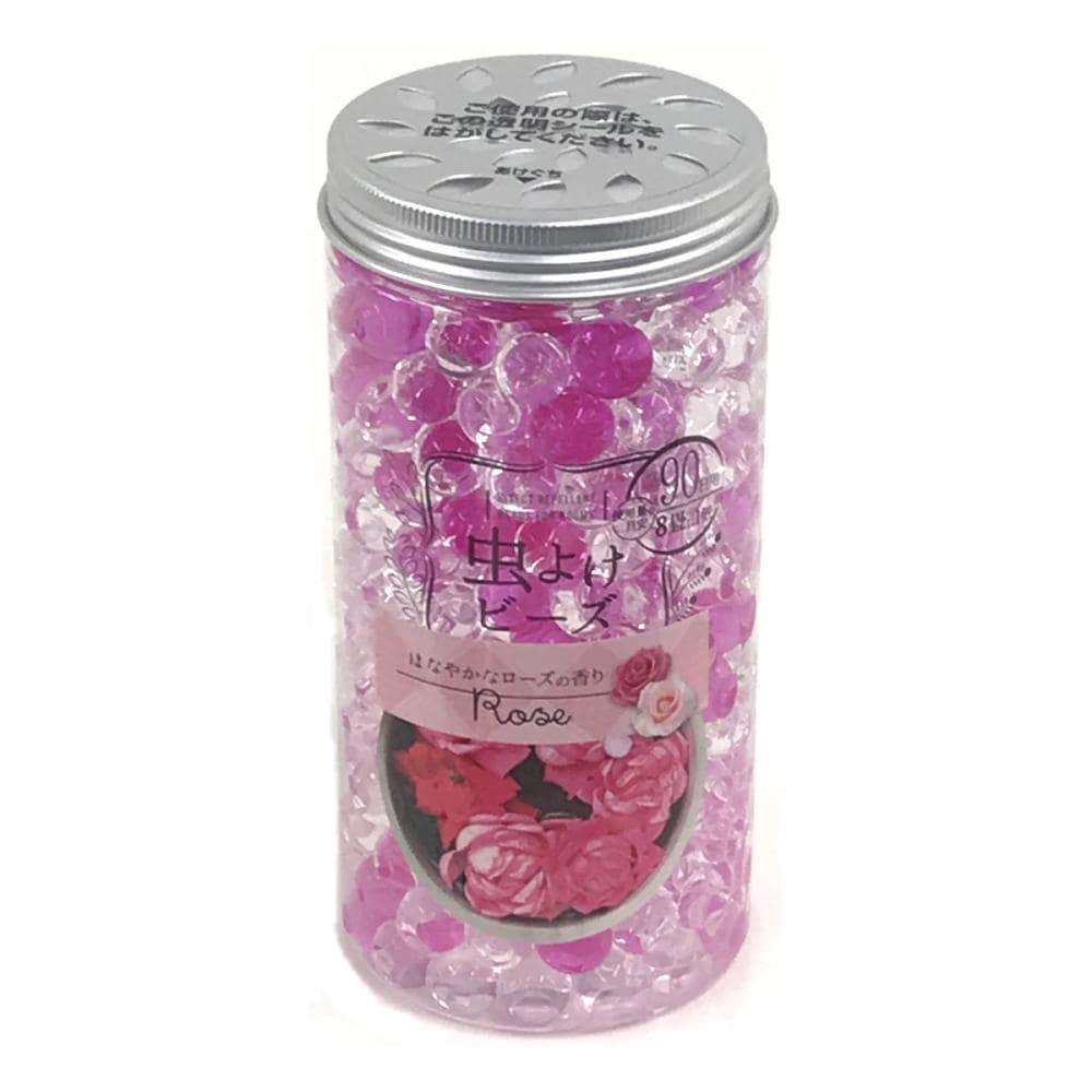 虫よけビーズ はなやかなローズの香り 約90日用