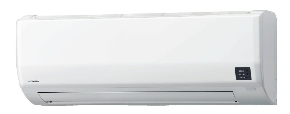 コロナ 冷暖房エアコン 18畳用 CSH-W5620R2(W)