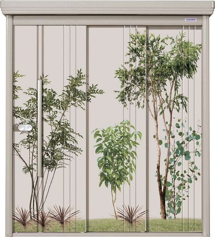 タクボ物置ペインタ 植栽 2217 各種