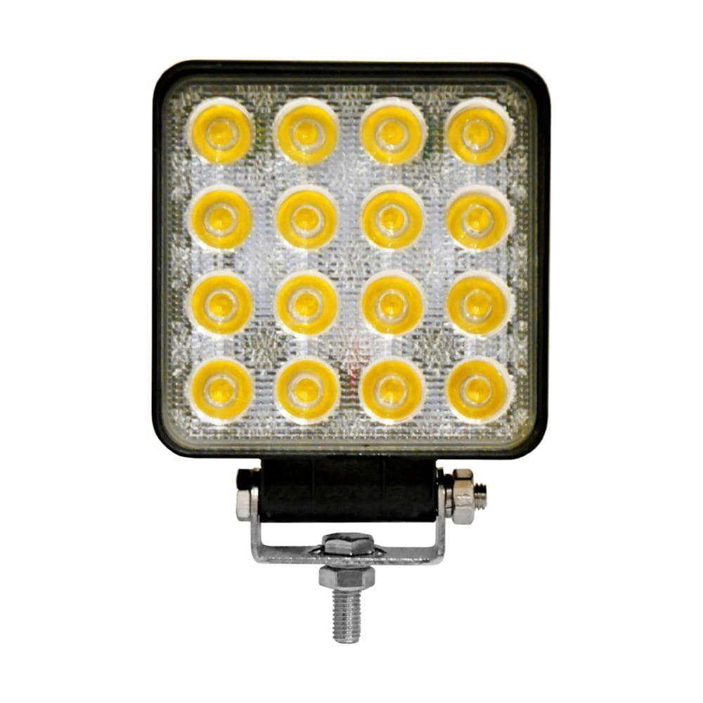 農機用LEDワークライト 16灯 48W イエロー