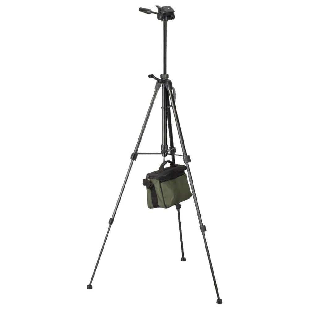 オーム電機 カメラ用三脚 機能充実アルミタイプ