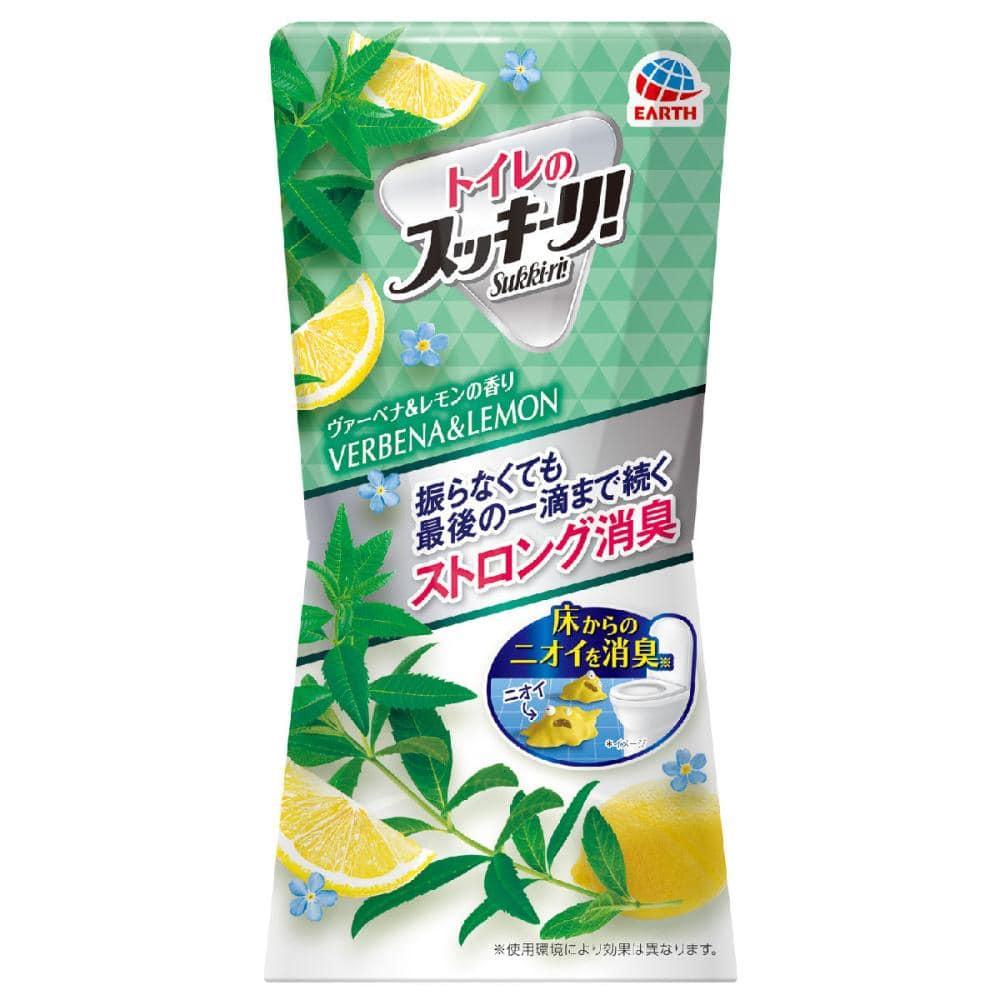 アース製薬 トイレのスッキーリ! ヴァーベナ&レモンの香り 400ml