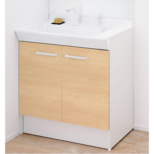 LIXIL INAX 洗面台 V1シリーズ 幅75cm シングルレバー洗髪シャワー水栓 各種