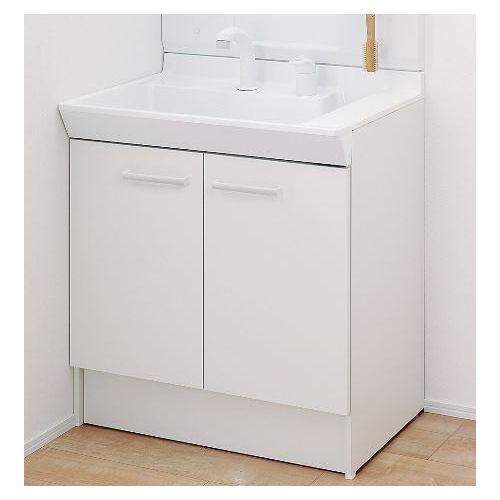 LIXIL INAX 洗面台 V1シリーズ ホワイト V1N1-755SY/VP1H