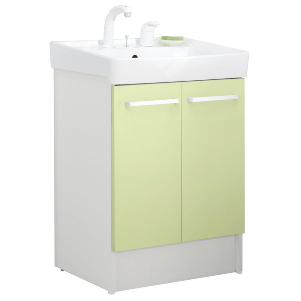 LIXIL INAX 洗面台 D7シリーズ 幅60cm シングルレバー洗髪シャワー水栓 各種