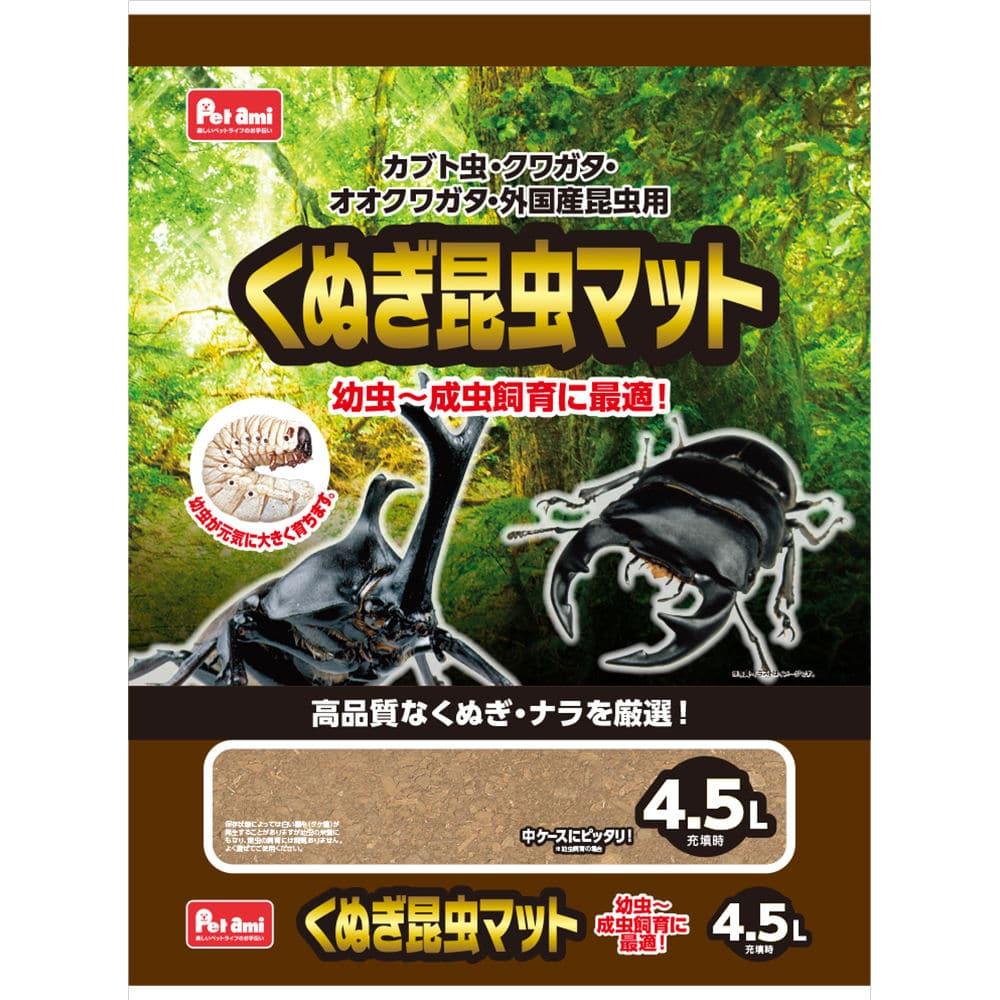 Petami くぬぎ昆虫マット 4.5L ZKO-86