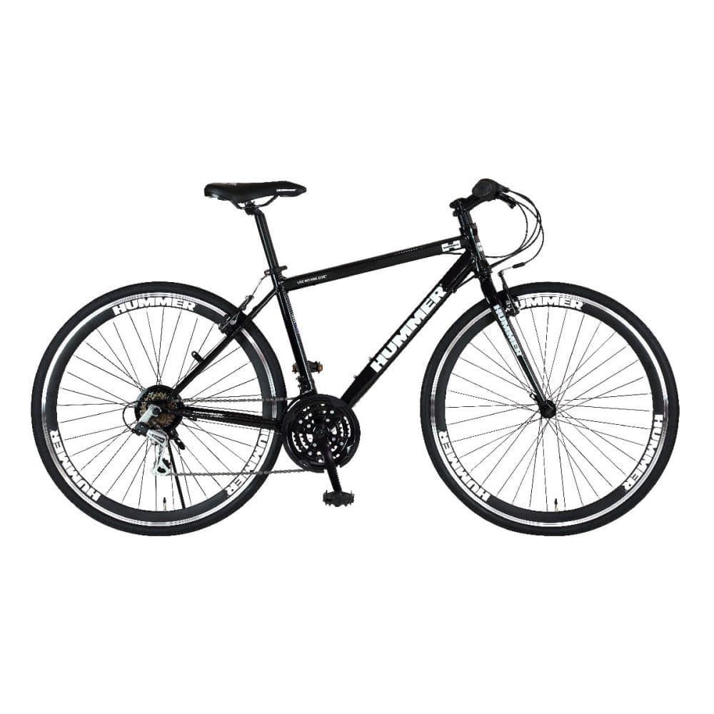 ハマー クロスバイク CRB7018DR ブラック