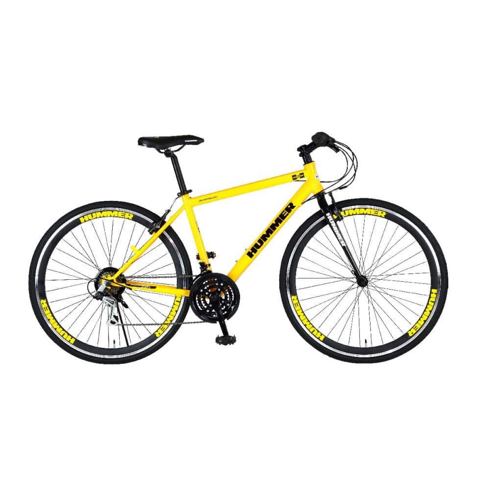 ハマー クロスバイク CRB7018DR イエロー