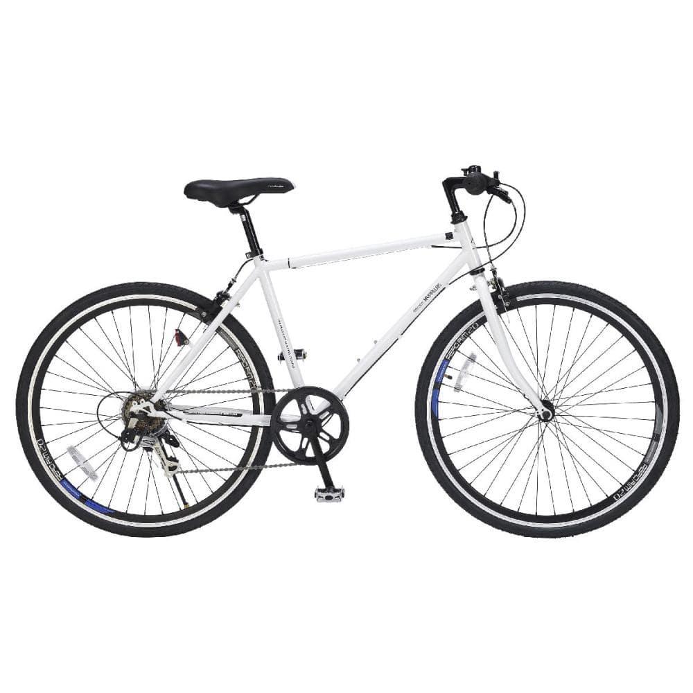 マイパラス クロスバイク26インチ 6段ギア ホワイト M-605