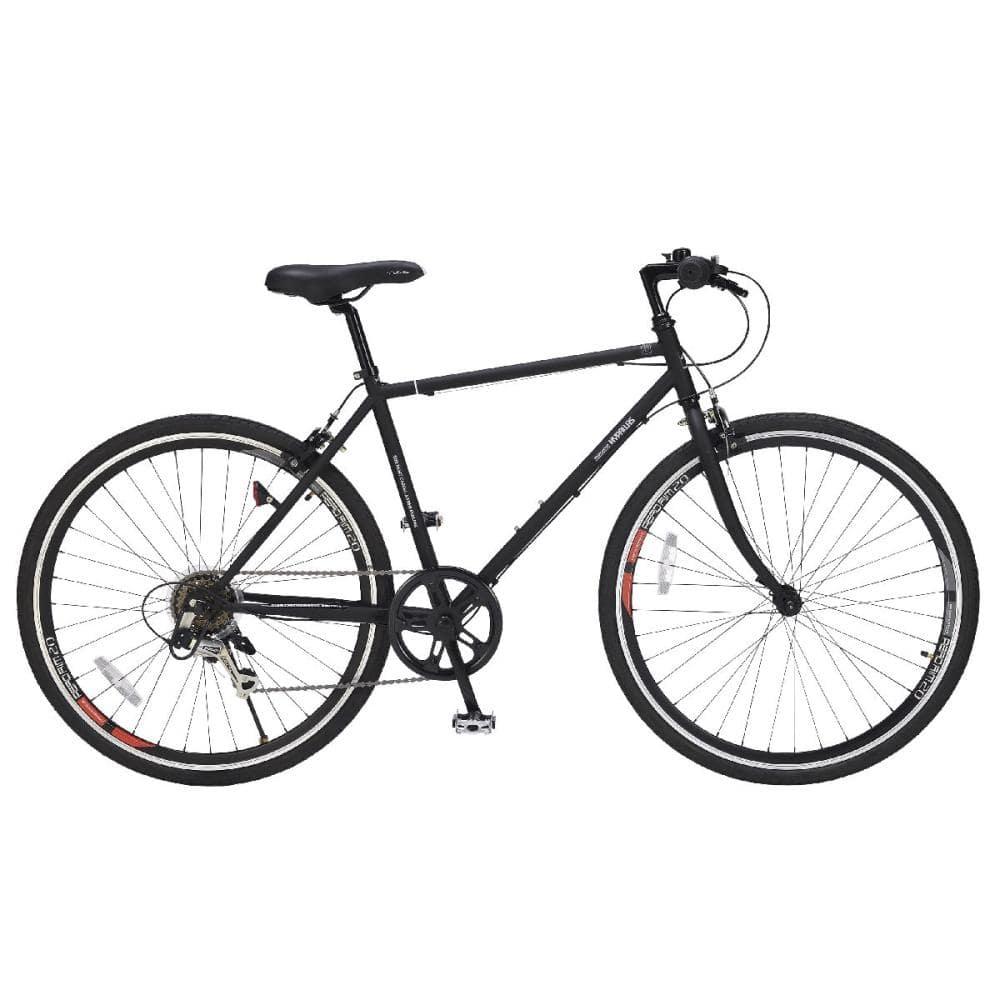 マイパラス クロスバイク 26インチ 6段ギア ブラック M-605