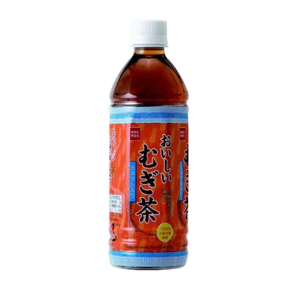 おいしいむぎ茶 ミネラル入り 500ml