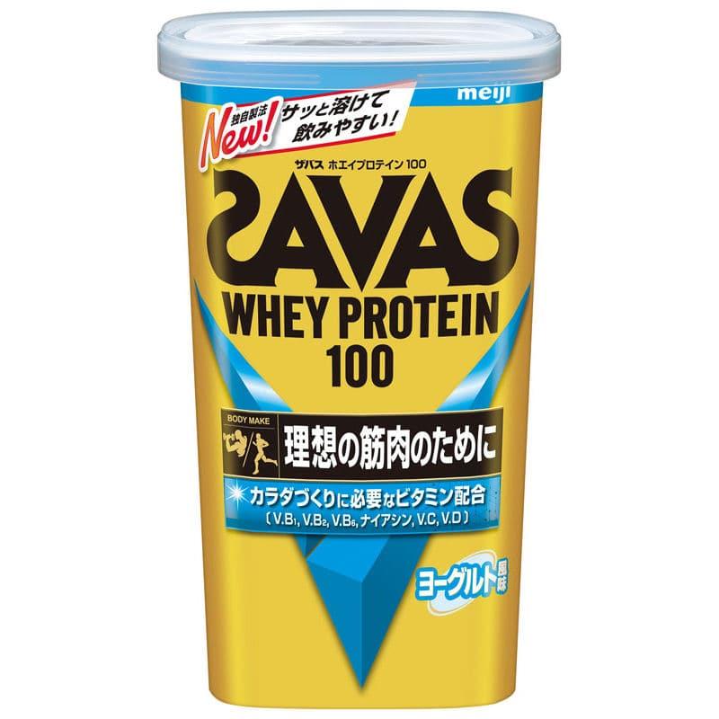明治 ザバス ホエイプロテイン100 ヨーグルト風味 14食分